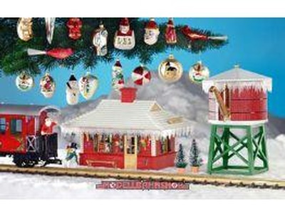 Christmas: LGB Model Trains, LGB Locomotives, Garden Train Sets, G Scale  Model Trains,
