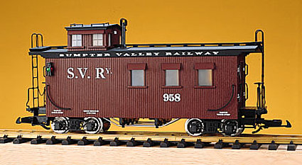 USA Trains R12021 Sumpter Valley Woodsided Caboose, Collection Item